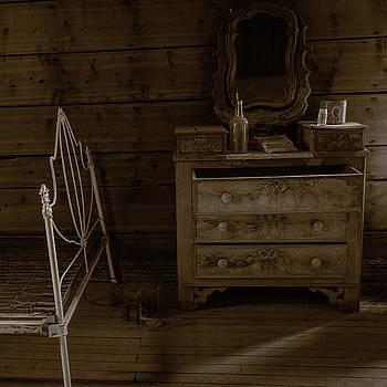 Rick Strobaugh - Old Dresser and Bed