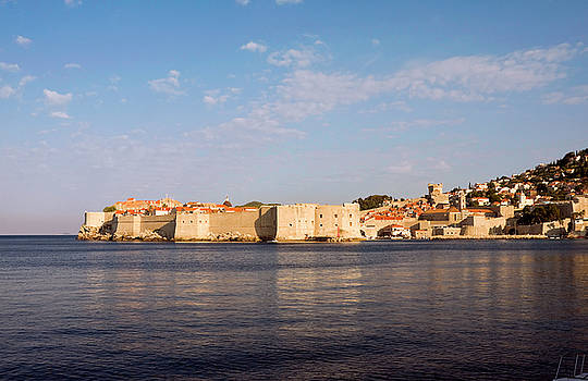 Old Dubrovnik Early Morn by Sally Weigand