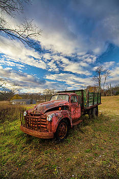 Old Duck Farm Truck by Robert Seifert