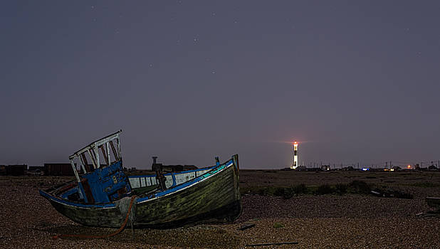 Old Dungeness Fishing Boat by David Attenborough