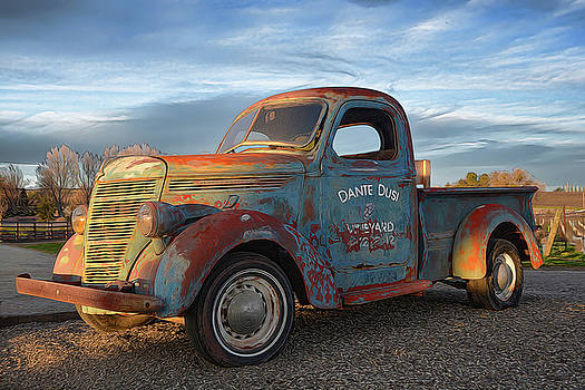 Old Dusi Truck by Dean Crawford Jr