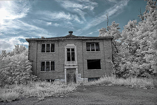Old Edmonton High School IR 2 by Amber Flowers
