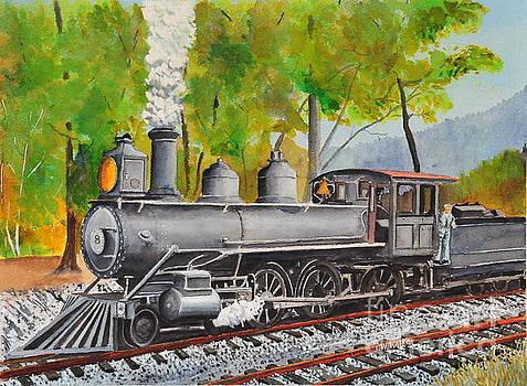 Old Engine 8 by John W Walker