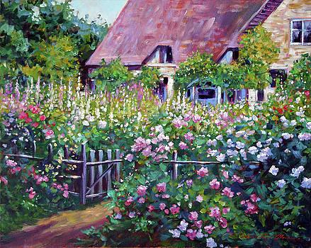 Old English Cottage Impressions by David Lloyd Glover