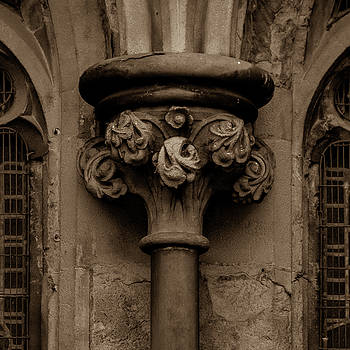 Jacek Wojnarowski - Old English Gothic Column Capital B
