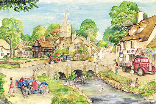 Old English Village by Morgan Fitzsimons