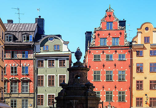 Old European Architecture by Teemu Tretjakov