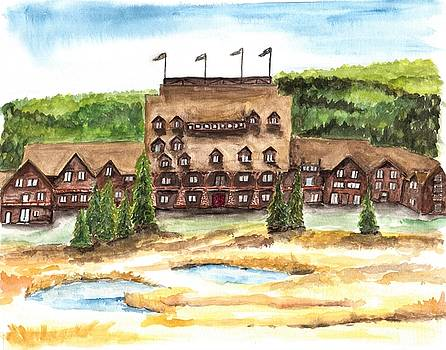 Old Faithful Inn by Anne Hockenberry