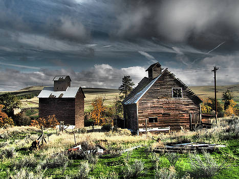 Old Farm Buildings by Kevin Felts