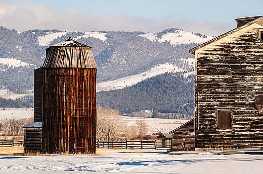 Old Farm Buildings by Sue Smith