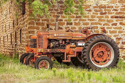Art Block Collections - Old Farmall Tractors