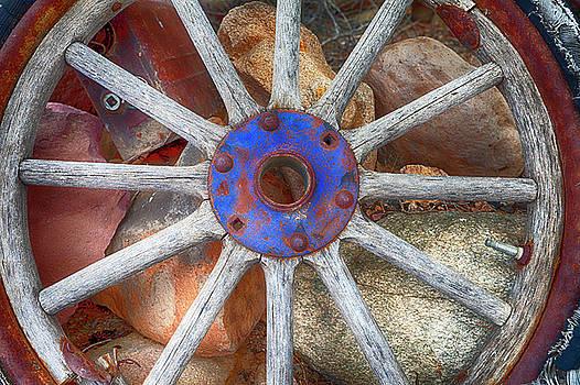 Old Fashion Wheel by Indiana Zuckerman