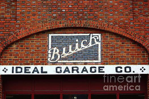 James Brunker - Old Fashioned Buick Garage Sign