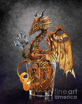 Old Fashioned Dragon by Stanley Morrison