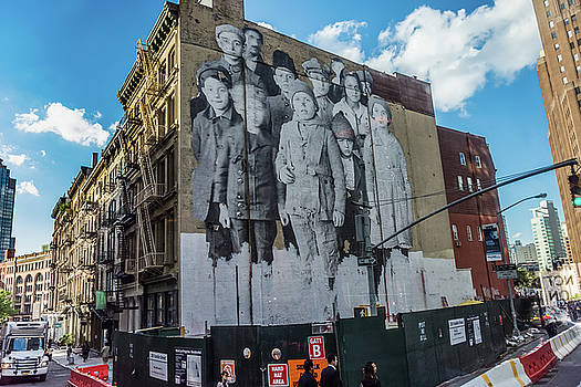 Old Fashioned Mural in the City by Andrew Kazmierski