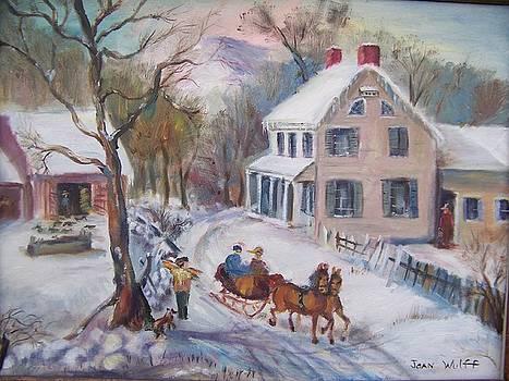 Old Fashioned Winter by Joan Wulff