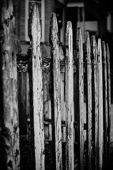 Old Fence in the City by Miguel Winterpacht