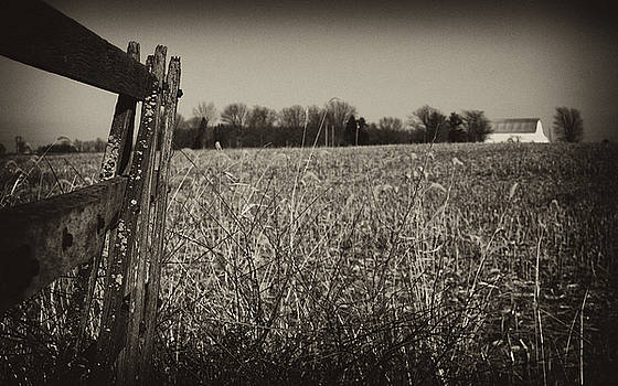 Old Fence by Off The Beaten Path Photography - Andrew Alexander