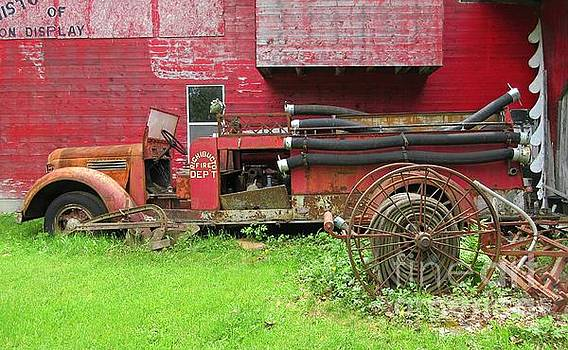 Crystal Loppie - Old Fire Truck Apparatus