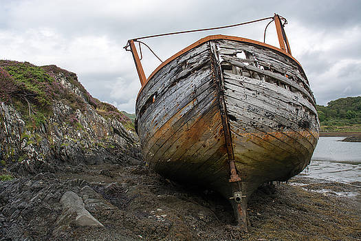 Old Fishing Boat by Richard Hayman