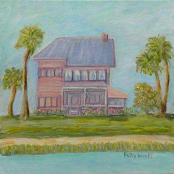 Old Florida Coastal Home by Patty Weeks