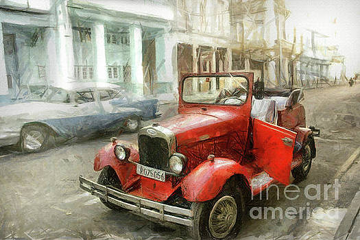 Old Ford  by Daliana Pacuraru