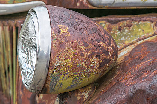Old Ford Head Lamp by Diana Marcoux