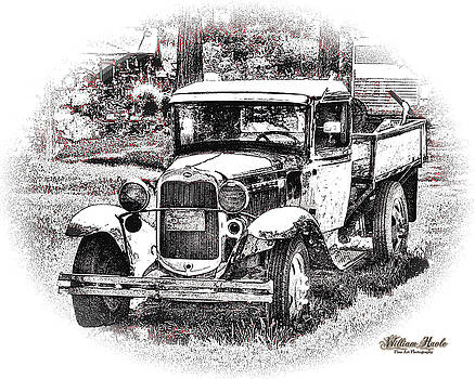 Old Ford Homemade Pickup by William Havle