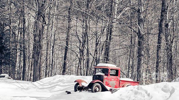 Old Ford Model T Pickup Truck  by Edward Fielding