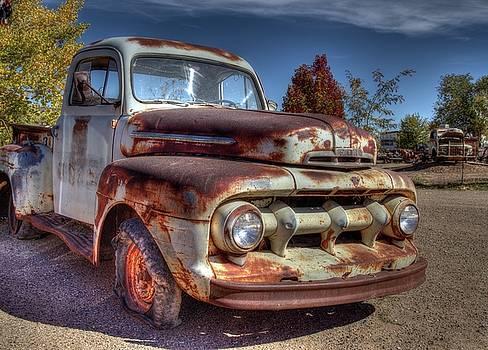 Old Ford Truck by Jim Allsopp