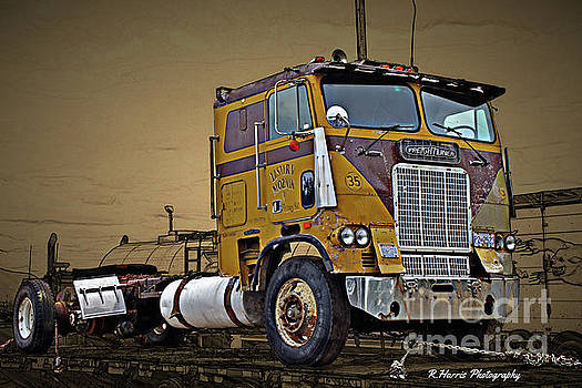 Old Freightliner Cabover by Randy Harris