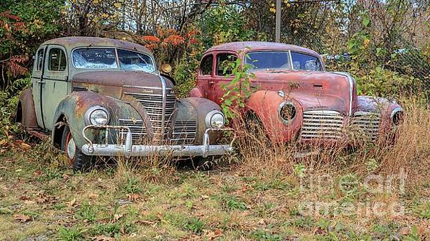 Old Friends White River Junction Vermont by Edward Fielding