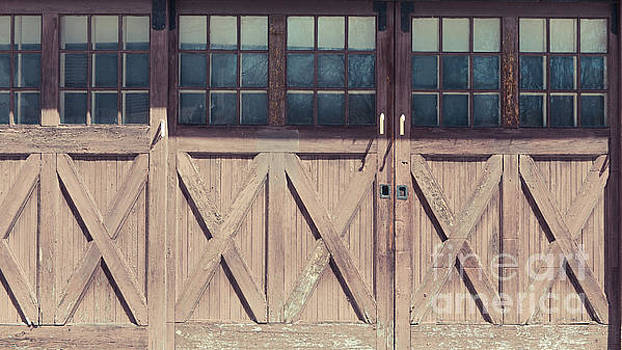 Old Garage Doors Portsmouth NH by Edward Fielding
