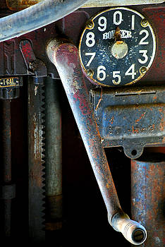 Old Gas Pump by Robert Goulet