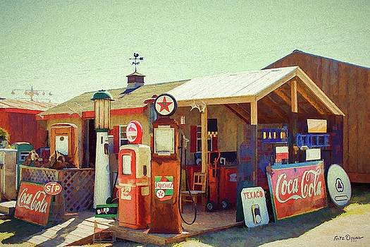 Old Gas Station Signs   4968 by Fritz Ozuna