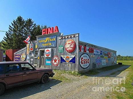 John Malone - Old Gas Station Signs