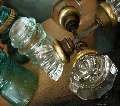 Old Glass by Delight Worthyn