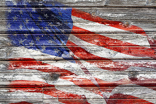 Old Glory by Phyllis Denton