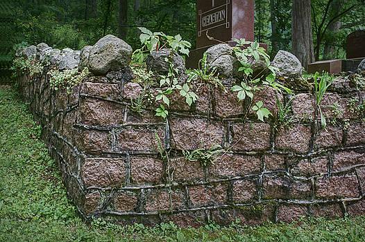 Nikolyn McDonald - Old Granite Wall - Cemetery