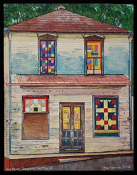 Old Grayson County Store by Jim Harris