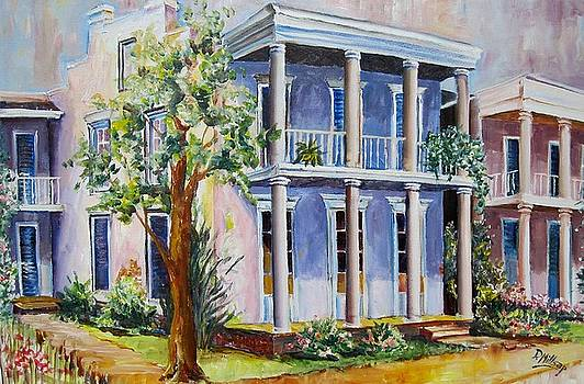 Old Gulf Coast Home by Diane Millsap