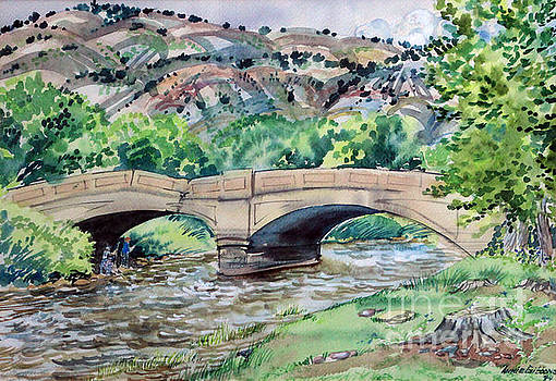 Old Gypsum Bridge by Annie Gibbons