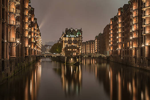 old Hamburg by Silke Tuexen