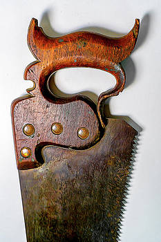 Old Hand Saw by Robert Meyerson