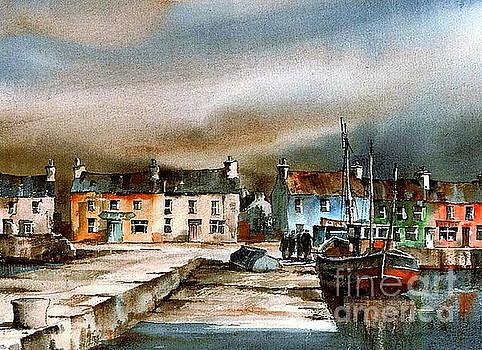 Val Byrne - Old Harbour Dingle, Kerry