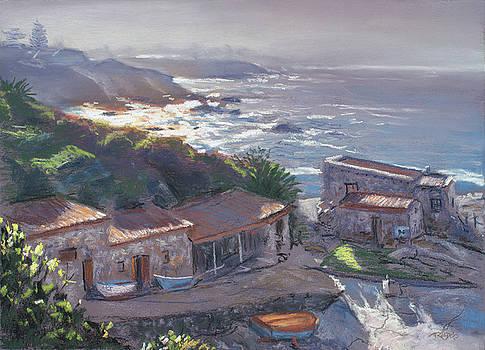 Christopher Reid - Old Harbour Morning