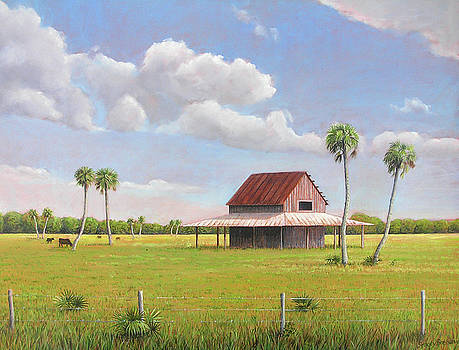 Old Harlee Barn by Stacey Breheny