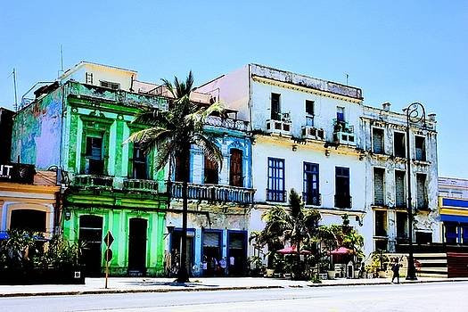 Old Havana by Mark J Dunn