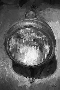 David Gordon - Old Headlamp II BW