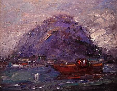 Old Hippie's boat by R W Goetting